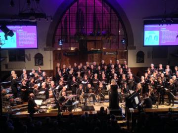 Arioso jubileum 2014 in Johanneskerk - Heerde